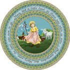 Green Area Rug Rug Size: Round 7'7