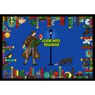 Look Into Reading Area Rug Rug Size: 7'8