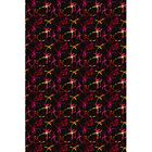 Black/Red Area Rug Rug Size: Rectangle 8' x 12'
