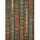 Brown/Black Area Rug Rug Size: 7'8