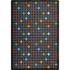 Hand-Tufled Gray Area Rug Rug Size: 7'8