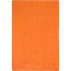 Tangerine Orange Area Rug Rug Size: Rectangle 4' x 6'