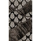 Black Area Rug Rug Size: Rectangle 8' x 10'4