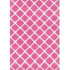 Lattice Play Pink Rug Rug Size: Rectangle 3' x 5'