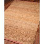 HandWoven Tan Area Rug Rug Size: Rectangle 8' x 10'