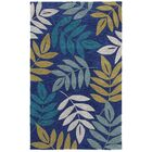 Hand-Tufted Blue Area Rug Rug Size: Rectangle 8' x 10'