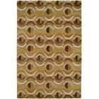 Hand-Tufted Brown Area Rug Rug Size: Runner 2'6