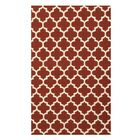 Handmade Red Area Rug Size: Rectangle 8' x 10'