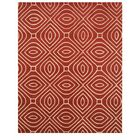 Wainwright Hand Tufted Red Area Rug Rug Size: Rectangle 9' x 12'