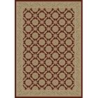 Red Aubusson Area Rug Rug Size: Rectangle 8'9