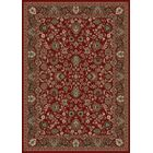 Persian Classics Oriental Mahal Red Area Rug Rug Size: Rectangle 6'7