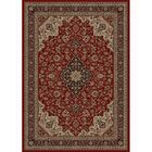 Persian Classics Oriental Medallion Red Area Rug Rug Size: 7'10