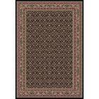 Persian Classics Oriental Herati Brown Area Rug Rug Size: 9'3