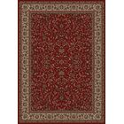 Persian Classics Oriental Kashan Red Area Rug Rug Size: Rectangle 9'3