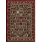 Persian Classics Panel Red Area Rug Rug Size: 6'7