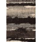 Cabell Black Area Rug Rug Size: 7'10