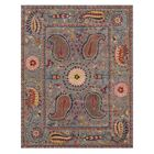 Colleen Hand Tufted Blue Area Rug Rug Size: Rectangle 5' x 8'