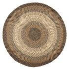 Handmade Indoor/Outdoor Area Rug Rug Size: Round 10'