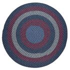 Handmade Evening Sky Indoor/Outdoor Area Rug Rug Size: Round 10'