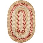 Handmade Natural Indoor/Outdoor Rug Rug Size: Oval 8' x 11'