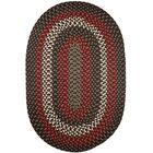 Handmade Indoor/Outdoor Area Rug Rug Size: Oval 8' x 11'
