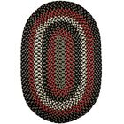 Handmade Indoor/Outdoor Area Rug Rug Size: Oval 5' x 8'