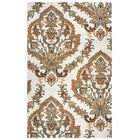 Hand-Tufted Beige Area Rug Rug Size: Rectangle 8' x 10'