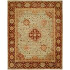 Gudur Hand-Knotted Pale Pistachio/Hopi Clay Area Rug Rug Size: Rectangle 3' x 5'