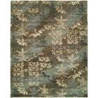 Dhuri Hand-Tufted Sky Brown Area Rug Rug Size: Rectangle 6' x 9'
