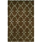Farooqnagar Handmade Java Brown Area Rug Rug Size: Rectangle 6' x 9'
