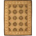 Kyathampalle Hand-Tufted Brown Area Rug Rug Size: Rectangle 8'9