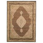 Pleasant Plains Hand-Knotted Brown Area Rug