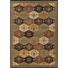 Puthuppally Hand-Tufted Rust/Black Area Rug Rug Size: Rectangle 9'10