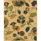 Rajam Hand-Tufted Beige Area Rug Rug Size: Rectangle 7'6