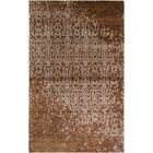Viramgam Hand-Knotted Rust Area Rug Rug Size: Rectangle 9' x 12'