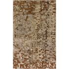 Vyara Hand-Knotted Beige Area Rug Rug Size: Rectangle 5'6