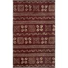 Cayenne Hand-Tufted Red Area Rug Rug Size: Round 8'