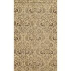 Almeria Hand-Knotted Ivory/Grey Area Rug Rug Size: Rectangle 3' x 5'