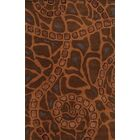 Cagliari Hand-Tufted Brown Area Rug Rug Size: Rectangle 3' x 5'