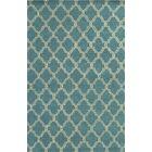 Mallorca Hand-Tufted Sky Blue Area Rug Rug Size: Rectangle 9' x 12'
