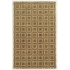 Piombino Hand-Tufted Brown/Beige Area Rug Rug Size: Rectangle 9' x 12'
