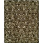 Hand-Tufted Brown Area Rug Rug Size: 6' x 9'