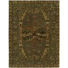 Hand-Tufted Green Area Rug Rug Size: 8' x 10'