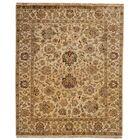 Bal Hand-Woven Beige Area Rug Rug Size: Square 6'