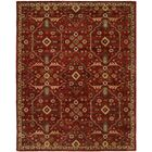 Hand-Woven Red Area Rug Rug Size: Rectangle 6' x 9'