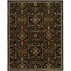 Chandran Tufted Black Area Rug Rug Size: Rectangle 9'6