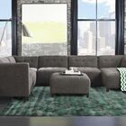 Leith Hand-Tufted Green Area Rug Rug Size: 8' x 11'