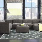 Igarka Hand-Tufted Grey Area Rug Rug Size: 8' x 11'