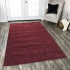 Pasaia Hand-Loomed Red Area Rug Rug Size: Runner 2'6