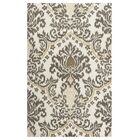 Montevideo Hand-Tufted Beige Area Rug Rug Size: Rectangle 5' x 8'